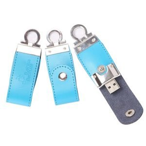 Colorful High Quality Gift Leather USB Flash Drive