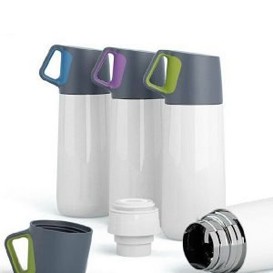 11oz Stainless Steel Double Vacuum Keep-warm Glass